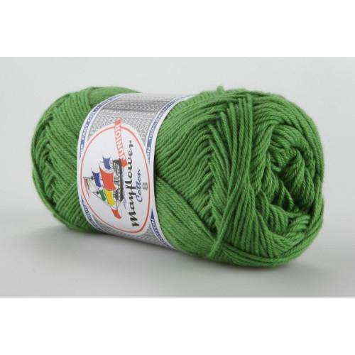 Mayflower Cotton 8 farve 1476 klar grøn