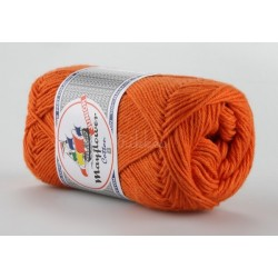 Mayflower Cotton 8 junior farve 1494 mørk orange