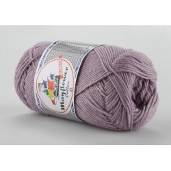 Mayflower Cotton 8 junior farve 1478 lys lilla
