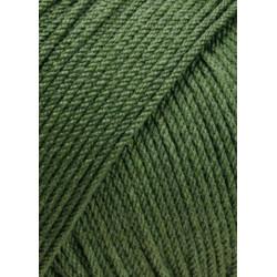 Lang Yarns Merino 130 Compact farve 98, mørk oliven
