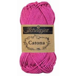 Scheepjes Catona 25g, farve 251 Garden Rose