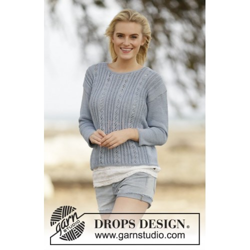 Orabel by DROPS Design S-XXXL Cotton Merino