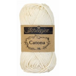 Scheepjes Catona 50g, farve 130 Old Lace