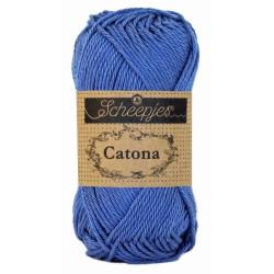 Scheepjes Catona 50g, farve 261 Capri Blue