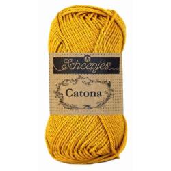 Scheepjes Catona 50g, farve 249 Saffron