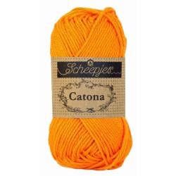 Scheepjes Catona 50g, farve 281 Tangerine