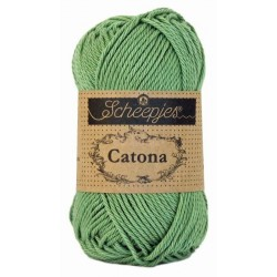 Scheepjes Catona 50g, farve 212 Sage Green