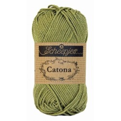 Scheepjes Catona 50g, farve 395 Willow