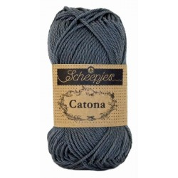 Scheepjes Catona 50g, farve 393 Charcoal
