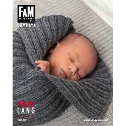 Lang Yarns strikkeopskrifter til baby og børn, 17 opskrifter, katalog 246