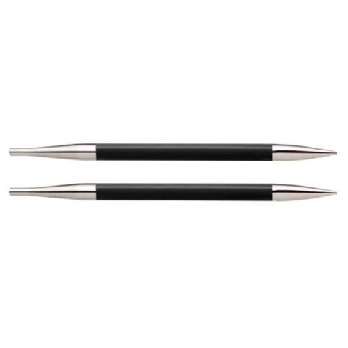 Knitpro Karbonz udskiftlige rundpinde 1 sæt, 4,5mm, korte pinde