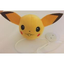 UDGÅET Pompon pokemon pikachu, polyester ca 8 cm