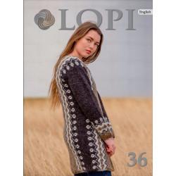 Istex, Lopi opskrift magasin 36, 19 opskrifter til damer, herre og børn, norsk el svensk