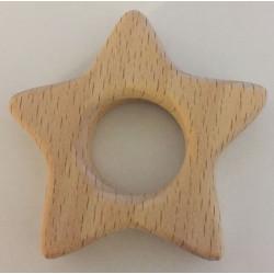 Træring stjerne ca. 5,5cm