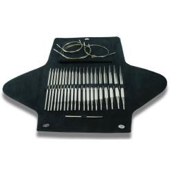 Addi Click basis, 10 sæt udskiftelige rundpinde, 3,5 - 10mm