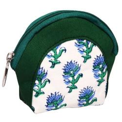 Knitpro glory, stof pung til maskemarkører og andre småting ca. 11cm x 9,5cm
