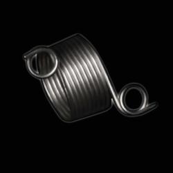 Addi strikkebøl/garnholder i metal, 2 tråde
