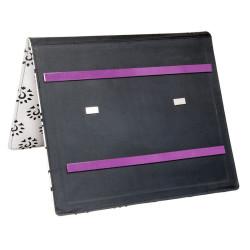 Opskriftsholder lille, KnitPro, amber black (35cm x 26,25cm)