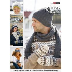 Viking strikkeopskrifter katalog 1710, Tilbehør, Viking Alpaca Storm