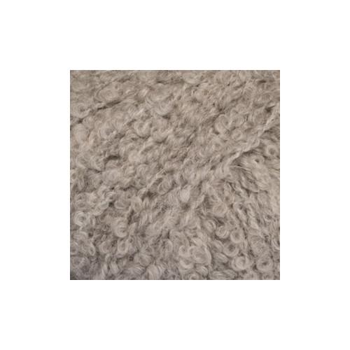 Drops alpaca bouclé MIX 5110 lys grå