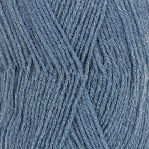 Drops Fabel UNI farve 103 gråblå