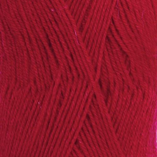 Drops Fabel UNI farve 106 rød