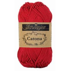 Scheepjes Catona 10g, farve 192 Scarlet