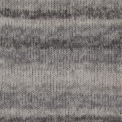 Drops Fabel Long print 602 sølvræv