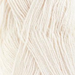 Drops Babyalpaca silk UNI hvid 1101