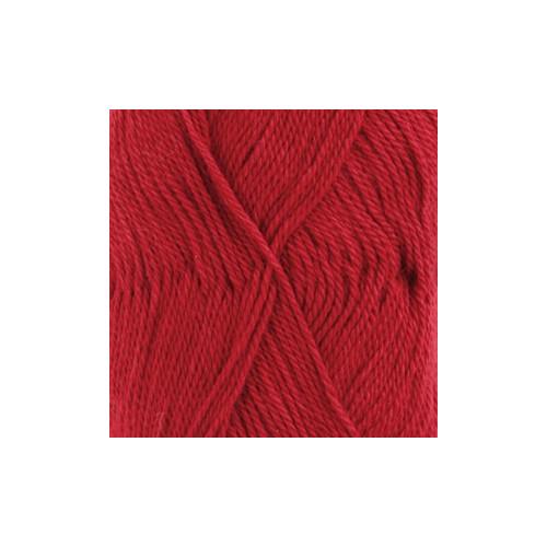 Drops Babyalpaca silk UNI 3609 rød