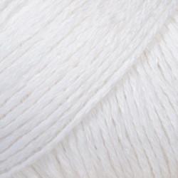 Drops Bomull-Lin UNI farve 01 hvid