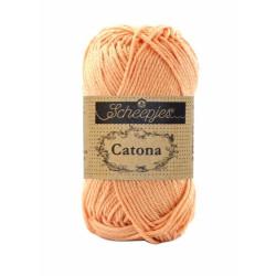 Scheepjes Catona 10g, farve 414 Vintage Peach