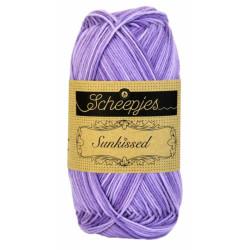 Scheepjes Sunkissed 50g, farve 10 Lavender Ice