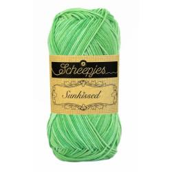 Scheepjes Sunkissed 50g, farve 14 Spearmint Green