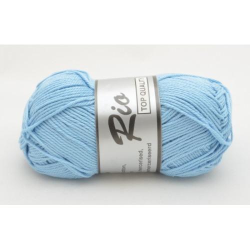 Lammy yarns Rio 011 lyseblå