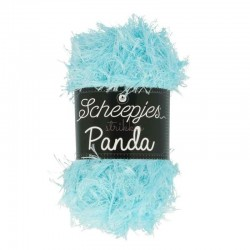 UDGÅR Scheepjes Panda, farve 590 Lys blå