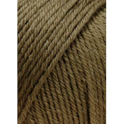 Lang Yarns Airolo, farve 67, brun 100g