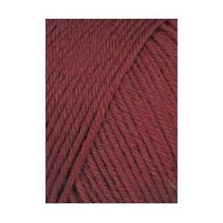 Lang Yarns Airolo, farve 61, mørk rød 100g