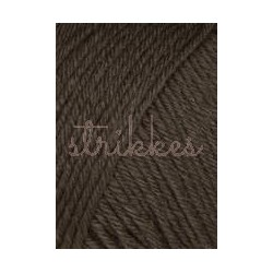 Lang Yarns Airolo, farve 68, mørk brun 100g