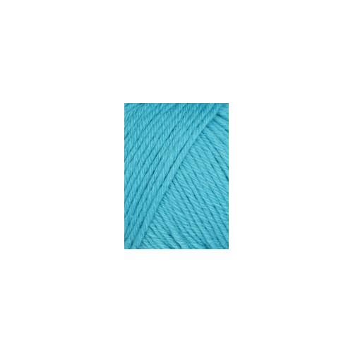 Lang Yarns Airolo, farve 79, turkis 100g