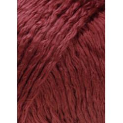 Lang Yarns Amira farve 63, Mørk rød
