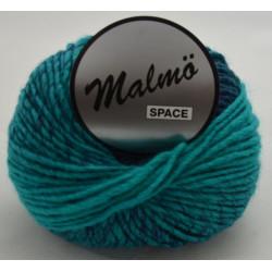 Lammy yarns malmö space 910 lyseblå/mørkeblå