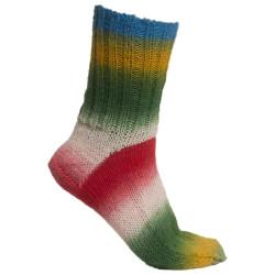 Vinking Nordlys. Farve 939, grøn/blå/rød/gul/beige