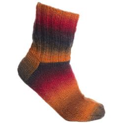 Viking Nordlys. Farve 955, multi orange/brun