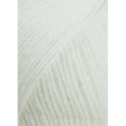 Lang Yarns Baby Wool, Farve 01, hvid