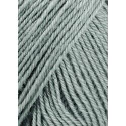 UDGÅET Lang Yarns Baby Wool, Farve 23, grå