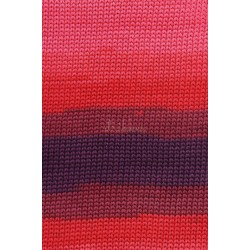 Lang Yarns Sol Dégradé. Farve 61, lilla/lyserød