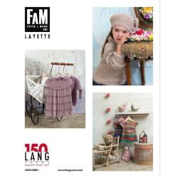 Lang yarns opskrift magasin 250. 27 strikkeopskrifter til babyer