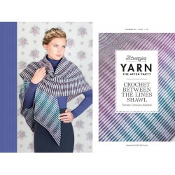 Crochet between the lines, sjal, hæklet, scheepjes whirl, engelsk