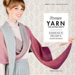 Essence shawl, sjal, hæklet, scheepjes whirl, engelsk